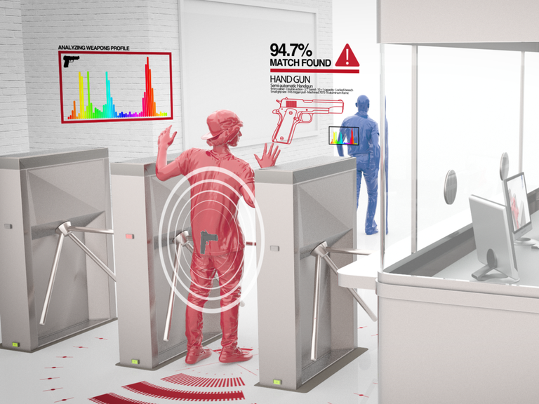 Patriot One offers a range of covert threat detection systems. Credits: Patriot One.